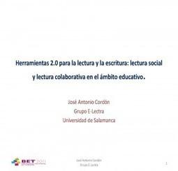 Herramientas 2.0 para la lectura y la escritura: lectura social y lectura colaborativa en el ámbito educativo | Anatomiteca | BIBLIO CORNER | Scoop.it