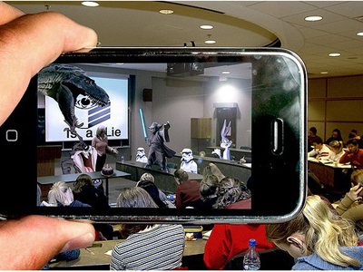 10 iPhone Apps That Will Make You Feel Like You're In The Future Through Augmented Reality | Pervasive Entertainment Times | Scoop.it