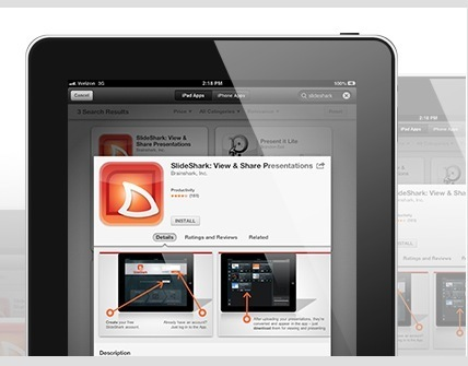 Store, Show and Control Your Presentations from Your iPhone or iPad with SlideShark | Business and Economics: E-Learning and Blended Learning | Scoop.it