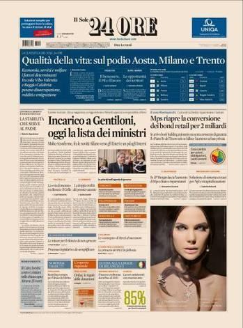 La qualità della vita in Italia, la Classifica Vivibilità 2016 | Il Sole 24 Ore | Accoglienza turistica | Scoop.it