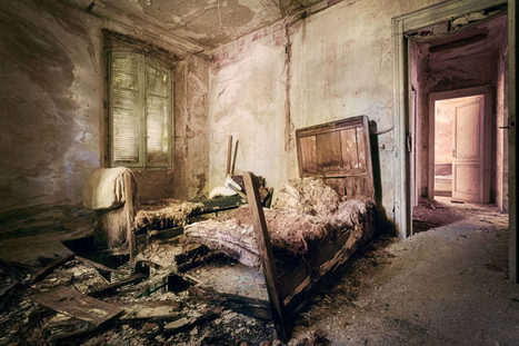Abandoned Bedrooms I Found While Exploring | Urban Decay Photography | Scoop.it