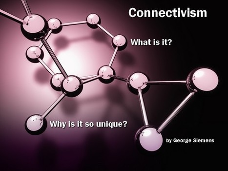 Connectivism: A Learning Theory for the DigitalAge | Bioinformatics Training | Scoop.it