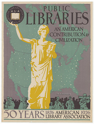 Early ALA Posters now Digitized and Online | American Library Association Archives | Daring Apps, QR Codes, Gadgets, Tools, & Displays | Scoop.it