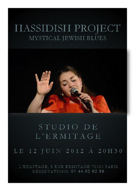 Miléna Kartowski - Hassidish Project - Mystical Jewish Blues   10  invitations pour 2 personnes à gagner pour ce concert le mardi 12 juin 2012  à 20h30 2d21133d495