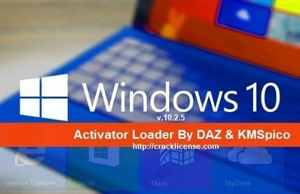 Windows 10 Activator 10 2 5 Loader [KMSPICO + D
