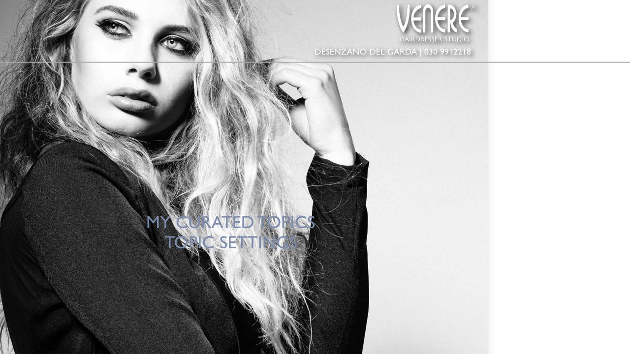 Venere Hairdresser News