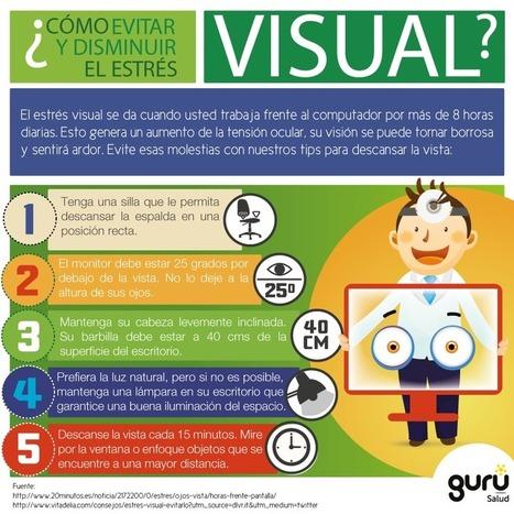 Cómo evitar el estrés visual #infografia #infographic #health   Pedagogia Sistèmica   Scoop.it