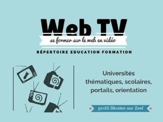 Le répertoire des WebTV éducatives | Cura | Scoop.it