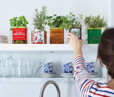 DIY Tea Tin Herbs | Vintage Living Today For A Future Tomorrow | Scoop.it