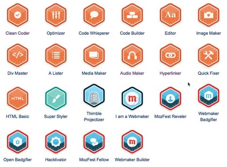 Webmaker Badges Are Here: Deeper Dive | e-Assessment in Further and Higher Education | Scoop.it