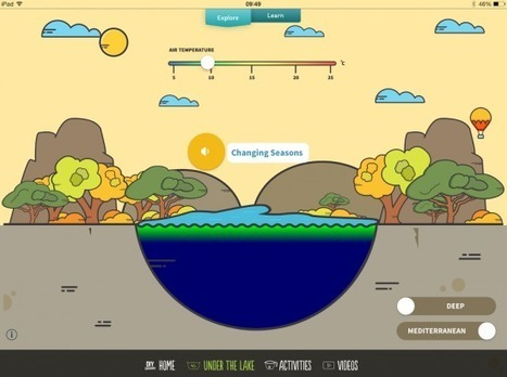 DIY Lake Science - Simulations and Activities for Learning About Lakes - iPad Apps for School | Writing, Research, Applied Thinking and Applied Theory: Solutions with Interesting Implications, Problem Solving, Teaching and Research driven solutions | Scoop.it