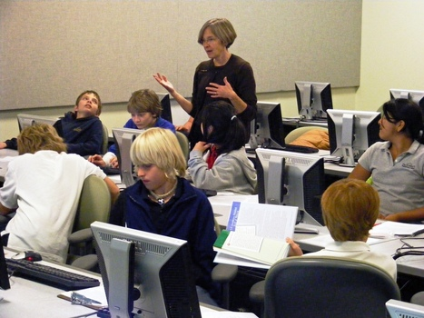 """The Flipped Classroom Turns Around an At-Risk, Failing School 