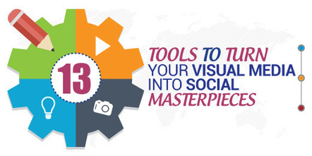 13 Tools To Turn Your Visual Media Into Social Masterpieces | Content Marketing and Curation for Small Business | Scoop.it