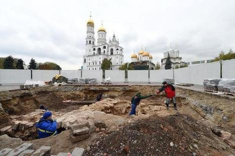 Dans les sous-sols du Kremlin, les mystères dévoilés du Moscou médiéval | Monde médiéval | Scoop.it