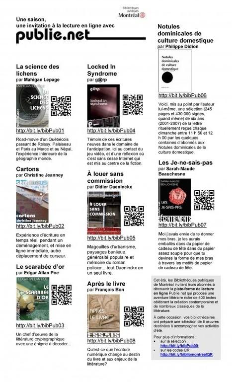 Des codes QR en bibliothèque au service des utilisateurs d'appareils mobiles | QR Code en Bibliothèques | Scoop.it