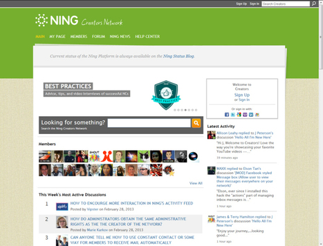 Add a Tiled Background to Ning Networks or Website - Using Seamless Tiles - JenSocial: Social Web Directory & Ning Tips | Learning HTML, CSS, Design Favs | Scoop.it