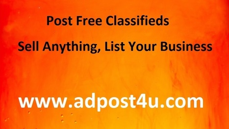 Free Classified Ads Posting Sites India | Free