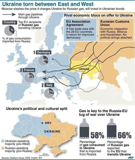 This Map Shows Why The Battle For 'Ukraine's Soul' Is So Pivotal | Geografía del mundo | Scoop.it
