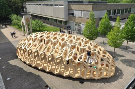 The Bowooss Bionic Inspired Research Pavilion | School of Architecture at Saarland University - Arch2O.com | Architecture, design & algorithms | Scoop.it