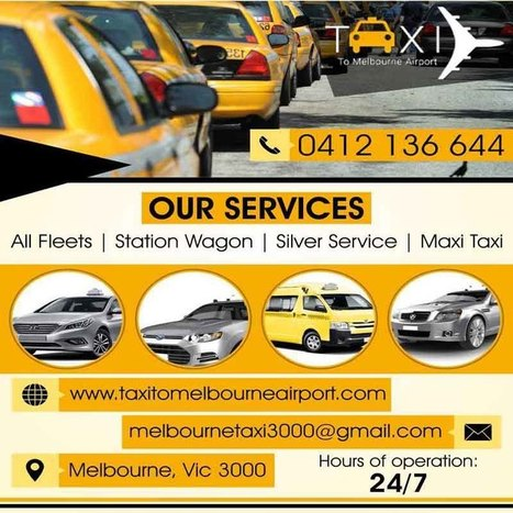 Silver Service Taxi To Melbourne Airport Scoop It