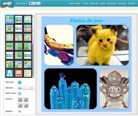 Des collages pour vos photos, Photobox | Ballajack | L'atelier numérique des arts | Scoop.it