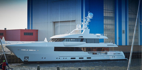Feadship Launch Latest Yacht Project: Moon Sand | Boat | Scoop.it