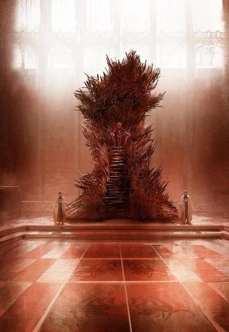 George R.R. Martin Shows Us The Iron Throne He's Always Pictured And It's Terrifying | Geek On | Scoop.it