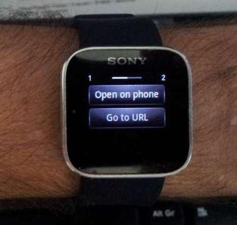 Montre Sony SmartSwatch : Vos notifications domotique à votre ... | Soho et e-House : Vie numérique familiale | Scoop.it