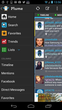Plume Premium for Twitter v5.08 | ApkLife-Android Apps Games Themes | Android Applications And Games | Scoop.it