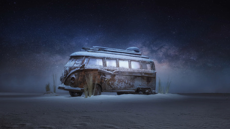 Go behind the scenes to see how this VW bus was shot in the snow - DIY Photography | Photography Stuff For You | Scoop.it