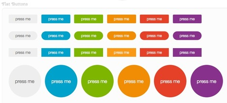 Buttons: A CSS Button Library Built With Sass & Compass | Web Development & Design | Scoop.it