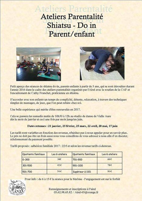 Prochain atelier parentalité le 21 janvier à Vielle-Aure - AIREL | Vallée d'Aure - Pyrénées | Scoop.it