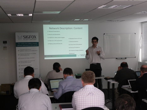 Sigfox's 1st VASP Training Day today | Innovation et stratégie | Scoop.it