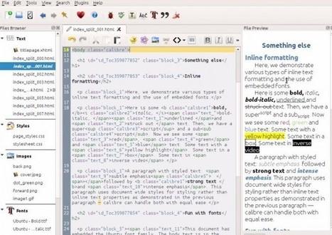 Nueva versión de Calibre añade editor y comparador de libros   eliburutegia   Scoop.it