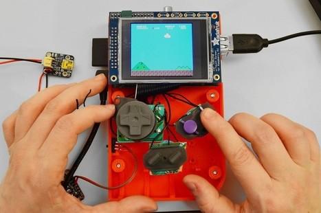 Raspberry Pi Powers 3D Printed Gameboy – Video | Raspberry Pi | Scoop.it