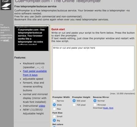 3 outils simples pour créer un prompteur – Les Outils Tice | François MAGNAN  Formateur Consultant | Scoop.it