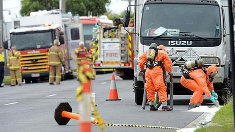Spill of chemicals from 200-litre drum in Oakleigh closes sections of ... - Herald Sun | Oil Spill | Scoop.it