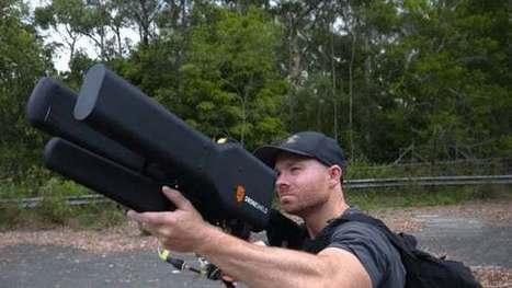 Long-range anti-drone gun can secure the entire neighborhood | medical toursim | Scoop.it