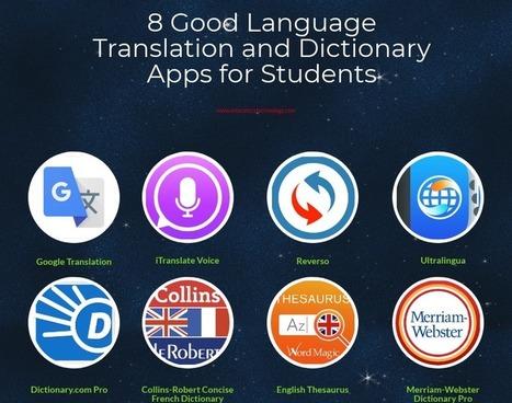 Translation in igeneration 21st century education pedagogy 8 good language translation and dictionary apps for students via educators technology fandeluxe Choice Image