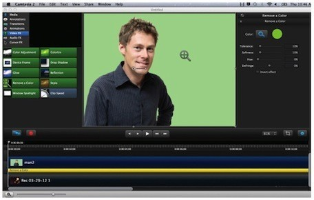 Camtasia for Mac 2.2 update adds new effects, interactivity | Edtech PK-12 | Scoop.it