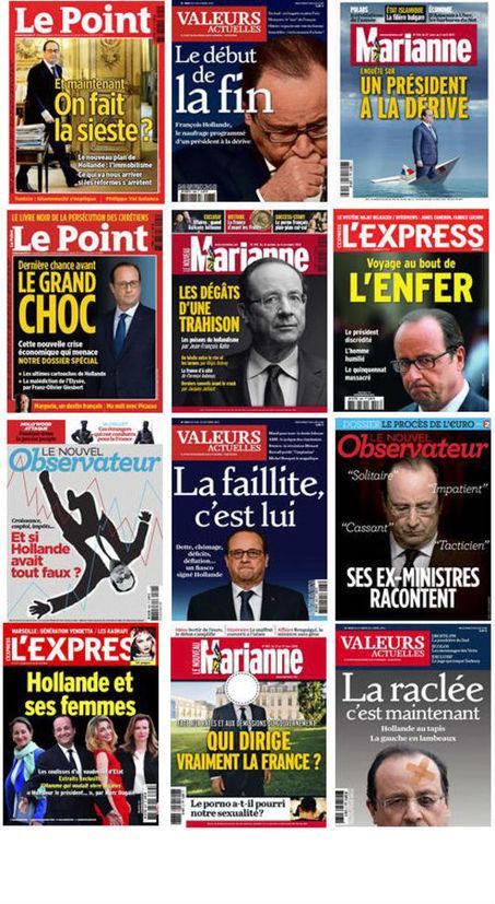Hollande, Sarkozy, immobilier, islam : explorez un an de couvertures d'hebdomadaires français | FLE, TICE & éducation aux médias | Scoop.it
