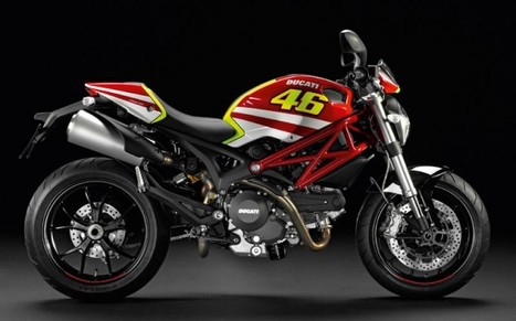 Ducati's First Valentino Rossi Branded Motorcycle | Ducati & Italian Bikes | Scoop.it