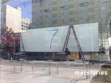 iOS 7, OS X banners spotted at WWDC preshow setup | Apple Updates | Scoop.it