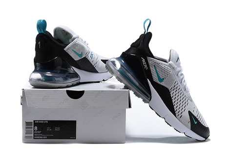 huge discount cda22 5cb29 Nike Air Max 270 White Black Blue -  65.90   Nike and Adidas sneakers are  available