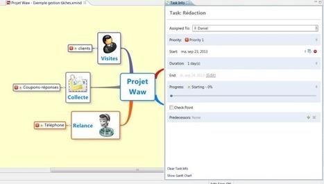 XMind en gestion de projet : exportez vos tâches vers Excel | Time to Learn | Scoop.it