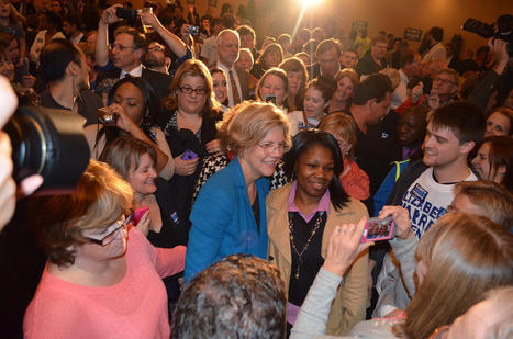photo: More than 1000 people attended Elizabeth Warren's rally in Worcester tonight | Political Philosophy | Scoop.it