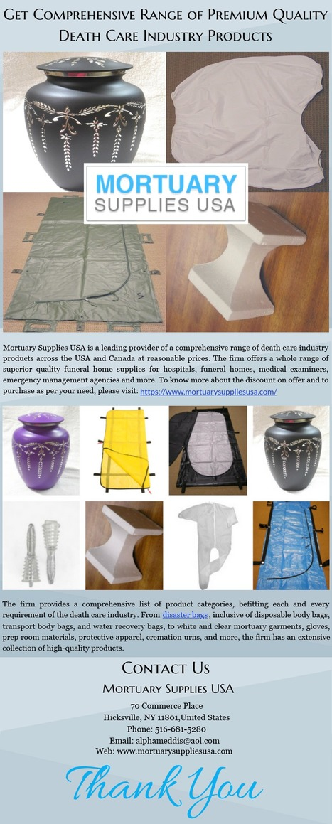 Buy Superior Design Cadaver Bags At Best Price