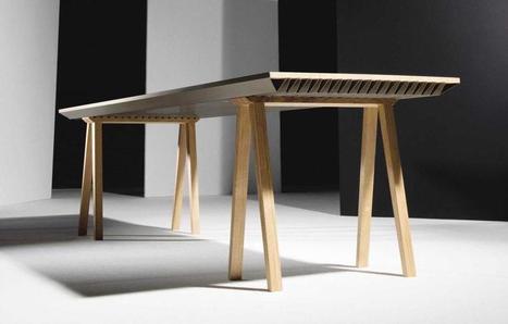 Esta mesa mantiene fresca tu habitación sin gastar nada de energía.   Acción positiva: #Alternativas   Scoop.it