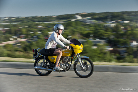 Kawasaki Café Racer KZ200 | Vintage, Classic & Custom Motorbikes | Scoop.it