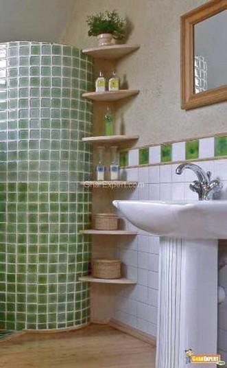 25 ideas de almacenamiento para baños pe...
